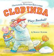 Book Cover for CLORINDA PLAYS BASEBALL!