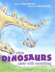 Book Cover for WHEN DINOSAURS CAME WITH EVERYTHING