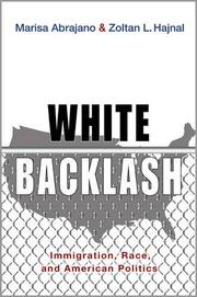 WHITE BACKLASH by Marisa Abrajano