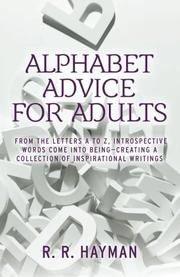 ALPHABET ADVICE FOR ADULTS by R. R. Hayman