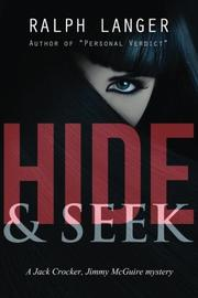 HIDE & SEEK by Ralph Langer