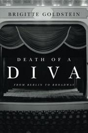 DEATH OF A DIVA by Brigitte  Goldstein