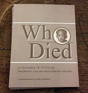 Who Died by Kathryn Barbour