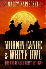 Moonin Canoe & White Owl by Marty Napierski