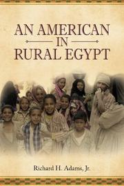 An American in Rural Egypt by Richard Adams, Jr.
