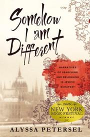 Somehow I Am Different by Alyssa Petersel