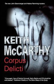 CORPUS DELICTI by Keith McCarthy