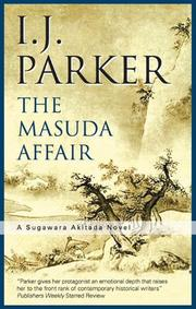 THE MASUDA AFFAIR by I.J. Parker