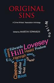 ORIGINAL SINS by Martin Edwards