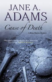 Book Cover for CAUSE OF DEATH