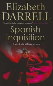 SPANISH INQUISITION by Elizabeth Darrell