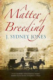A MATTER OF BREEDING by J. Sydney Jones