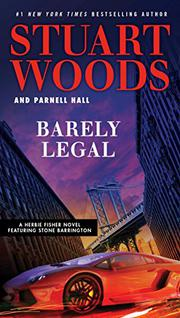 BARELY LEGAL  by Stuart Woods