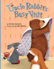 Cover art for UNCLE RABBIT'S BUSY VISIT