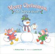 MERRY CHRISTMAS, MR. SNOWMAN by Wolfram Hänel