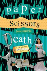 Book Cover for PAPER SCISSORS DEATH