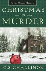Cover art for CHRISTMAS IS MURDER