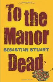 Book Cover for TO THE MANOR DEAD