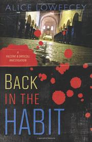 Cover art for BACK IN THE HABIT