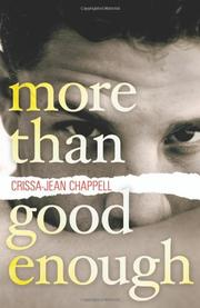 MORE THAN GOOD ENOUGH by Crissa-Jean Chappell