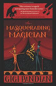 THE MASQUERADING MAGICIAN by Gigi Pandian
