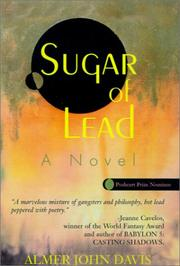 SUGAR OF LEAD by Almer John Davis