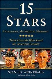 15 STARS by Stanley Weintraub