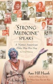"Book Cover for ""STRONG MEDICINE"" SPEAKS"