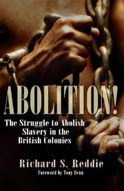 ABOLITION! by Richard S. Reddie