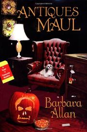 ANTIQUES MAUL by Barbara Allan