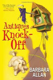 ANTIQUES KNOCK-OFF by Barbara Allan