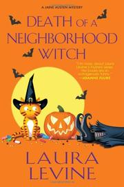 Cover art for DEATH OF A NEIGHBORHOOD WITCH