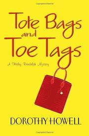 Book Cover for TOTE BAGS AND TOE TAGS