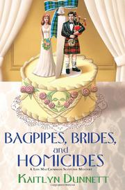 Book Cover for BAGPIPES, BRIDES, AND HOMICIDES