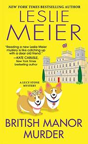 BRITISH MANOR MURDER by Leslie Meier