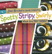SPOTTY, STRIPY, SWIRLY by Jane  Brocket