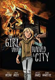 Cover art for THE GIRL WHO OWNED A CITY
