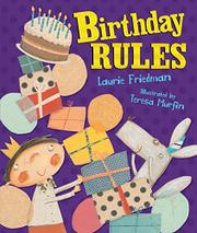 BIRTHDAY RULES by Laurie Friedman