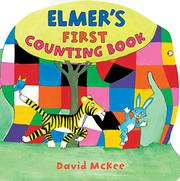 Book Cover for ELMER'S FIRST COUNTING BOOK