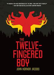 Cover art for THE TWELVE-FINGERED BOY