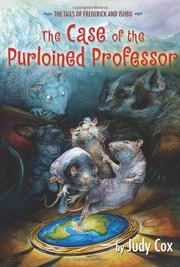 THE CASE OF THE PURLOINED PROFESSOR by Judy Cox