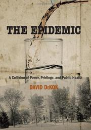 THE EPIDEMIC by David DeKok