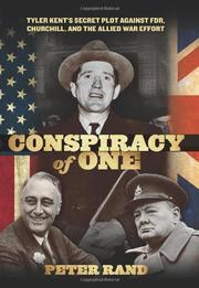 CONSPIRACY OF ONE by Peter Rand