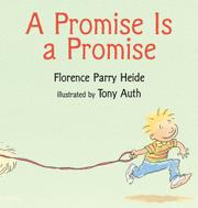 A PROMISE IS A PROMISE by Florence Parry Heide