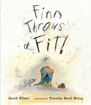 FINN THROWS A FIT! by David Elliott