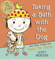 TAKING A BATH WITH THE DOG by Scott Menchin