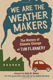 Cover art for WE ARE THE WEATHER MAKERS