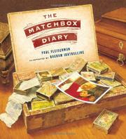 Book Cover for THE MATCHBOX DIARY
