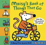 Cover art for MAISY'S BOOK OF THINGS THAT GO