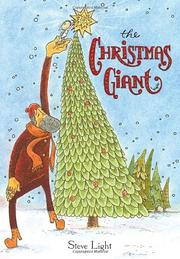 Cover art for THE CHRISTMAS GIANT